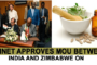 Cabinet approves MoU between India and Zimbabwe on Cooperation in the field of Traditional System of Medicine and Homeopathy