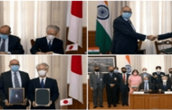 India and Japan inks Armed Forces supply & services agreement