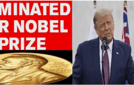 US President Trump nominated for 2021 Nobel Peace Prize