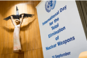 The International Day for the Total Elimination of Nuclear Weapons: 26 Sep