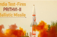Indigenously developed Prithvi-II missile testfired