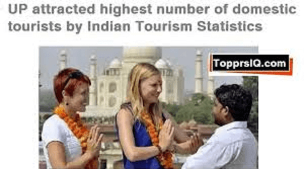 "Ministry of Tourism has released ""Indian Tourist Statistics"""
