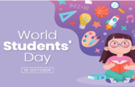 World Students Day : 15 October