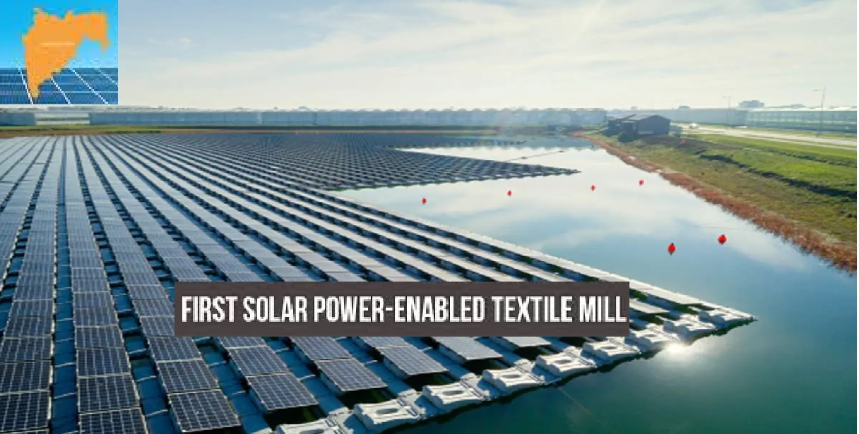 Asia's first solar power textile mill to come in Maharashtra
