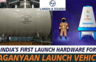 First hardware for Gaganyaan to ISRO is offered by L & T