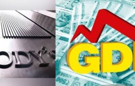 Rating Agency Moody's has projected the GDP of India at -8.9% for the calendar year 2020