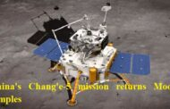 China's Chang'e-5 mission returns Moon samples