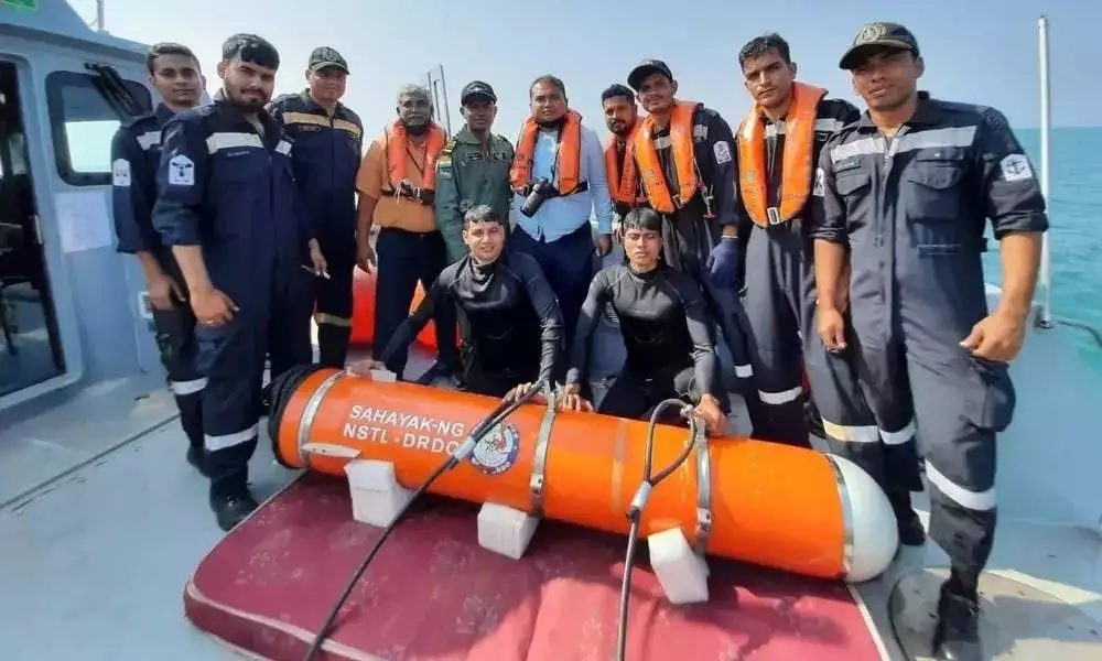DRDO, Indian Navy conduct successful maiden test trial of SAHAYAK-NG