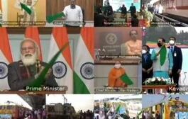 PM Modi flag off 8 trains connecting different regions to Kevadia