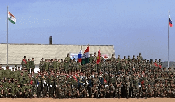 Indo-Russia Joint Military Drill 'Exercise INDRA 2021'