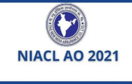 RECRUITMENT IN NIACL ADMINISTRATIVE OFFICER AO 2021