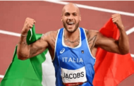 Lamont Jacobs wins 100m gold in 9.80 seconds in Tokyo Olympics