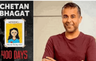 Chetan Bhagat releases cover of his upcoming book '400 Days'