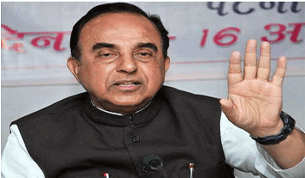 Subramanian Swamy comes out with book on Human Rights and Terrorism
