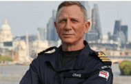 Daniel Craig has been honored by being appointed 'Honorary Commander' in the Royal Navy of the United Kingdom