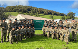 5th Battalion-4 (5/4) Gorkha Rifles was awarded a gold medal in the latest Cambrian Patrol Exercise 2021