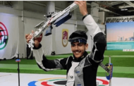 Aishwarya Pratap Singh Tomar has won the gold medal by setting a world record in the men's 50m rifle three position event final at the ISSF Junior World Championships